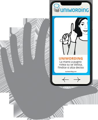 app-uniwording-iphone-hand